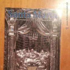 Coleccionismo de Revistas y Periódicos: SANTA MARTA BOLETIN INFORMATIVIO N 78 MAYO 2010 SEVILLA SEMANA SANTA. Lote 42697226