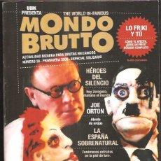 Coleccionismo de Revistas y Periódicos: MONDO BRUTTO 39. Lote 42726083