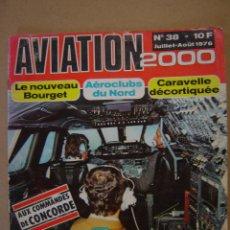 Coleccionismo de Revistas y Periódicos: REVISTA AVIATION 2.000 - Nº 38 - 1.976. Lote 42800043