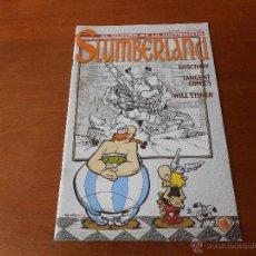 Coleccionismo de Revistas y Periódicos: SLUMBERLAND Nº 28 REVISTA SOBRE COMIC NOV1997 GOSCINNY, TANGENTE COMICS, WILL EISNER. Lote 42807810