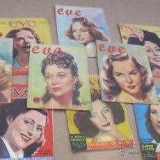 Coleccionismo de Revistas y Periódicos: 73 REVISTAS ANTIGUA EVE FRANCESA AÑOS 30 40 JOURNAL. Lote 42808527
