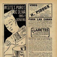 Coleccionismo de Revistas y Periódicos: ESPAÑA 1909 INSTITUTO POLITECNICO HOJA REVISTA. Lote 42828195