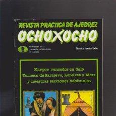 Coleccionismo de Revistas y Periódicos: AJEDREZ - OCHO X OCHO - Nº 27 - ROMÁN TORÁN, DIRECTOR - REVISTA PRACTICA. Lote 42831664