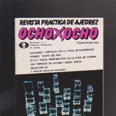 Coleccionismo de Revistas y Periódicos: AJEDREZ - OCHO X OCHO - Nº 26 - ROMÁN TORÁN, DIRECTOR - REVISTA PRACTICA. Lote 42832007