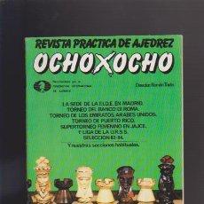 Coleccionismo de Revistas y Periódicos: AJEDREZ - OCHO X OCHO - Nº 25 - ROMÁN TORÁN, DIRECTOR - REVISTA PRACTICA. Lote 42833780