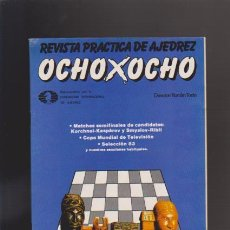 Coleccionismo de Revistas y Periódicos: AJEDREZ - OCHO X OCHO - Nº 22 - ROMÁN TORÁN, DIRECTOR - REVISTA PRACTICA. Lote 42833806