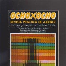 Coleccionismo de Revistas y Periódicos: AJEDREZ - OCHO X OCHO - Nº 30 - ROMÁN TORÁN, DIRECTOR - REVISTA PRACTICA. Lote 42833846