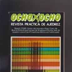 Coleccionismo de Revistas y Periódicos: AJEDREZ - OCHO X OCHO - Nº 29 - ROMÁN TORÁN, DIRECTOR - REVISTA PRACTICA. Lote 42833855
