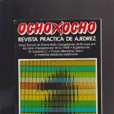 Coleccionismo de Revistas y Periódicos: AJEDREZ - OCHO X OCHO - Nº 28 - ROMÁN TORÁN, DIRECTOR - REVISTA PRACTICA. Lote 42833863