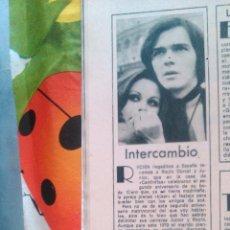 Coleccionismo de Revistas y Periódicos: RECORTES ROCIO DURCAL JUNIOR. Lote 42864058