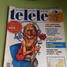 Collezionismo di Riviste e Giornali: REVISTA TELELE NÚMERO 1, OCTUBRE DE 1994, PÓSTER DE IDÍGORAS Y PACHI, RARA. Lote 42867080