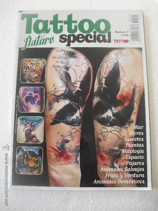 Tattoo Nature Special Nº 7 Mar Flores Magazi Comprar Otras