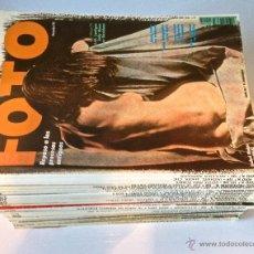 Coleccionismo de Revistas y Periódicos: FOTO PROFESIONAL. LOTE DE 29 REVISTAS.. Lote 189455242