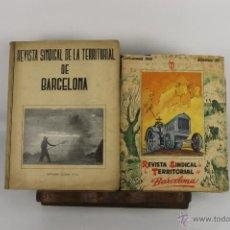 Coleccionismo de Revistas y Periódicos: D-384. REVISTA SINDICAL DE LA TERRITORIAL DE BARCELONA. 1945/1946. 3 NUM. . Lote 42956041