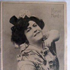 Coleccionismo de Revistas y Periódicos: REVISTA NUEVO MUNDO Nº 738 1908. Lote 42972726