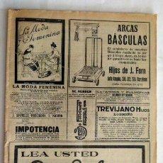 Coleccionismo de Revistas y Periódicos: MUNDO GRAFICO Nº 387 1919. Lote 43000068