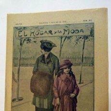 Coleccionismo de Revistas y Periódicos: ANTIGUA REVISTA EL HOGAR Y LA MODA -7 DE OCTUBRE DE 1915 - NUMERO 305. Lote 43018206