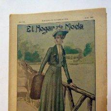 Coleccionismo de Revistas y Periódicos: ANTIGUA REVISTA EL HOGAR Y LA MODA -31 DE OCTUBRE DE 1915 - NUMERO 308. Lote 43018208