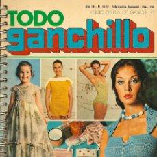 Coleccionismo de Revistas y Periódicos: * CROCHET * REVISTA TODO GANCHILLO Nº 18-19 - AÑOS 70. Lote 43031782