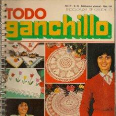 Coleccionismo de Revistas y Periódicos: * CROCHET * REVISTA TODO GANCHILLO Nº 25 - AÑOS 70. Lote 43031787