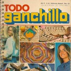 Coleccionismo de Revistas y Periódicos: * CROCHET * REVISTA TODO GANCHILLO Nº 26 - AÑOS 70. Lote 43031789