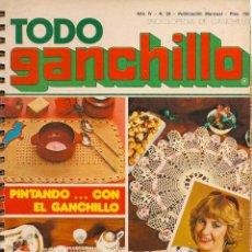 Coleccionismo de Revistas y Periódicos: * CROCHET * REVISTA TODO GANCHILLO Nº 28 - AÑOS 70. Lote 43031791
