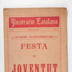 Coleccionismo de Revistas y Periódicos: ILUSTRACIO CATALANA REVISTA SEMANAL ILUSTRADA BARCELONA AÑO 1912 Nº 473. Lote 43038200