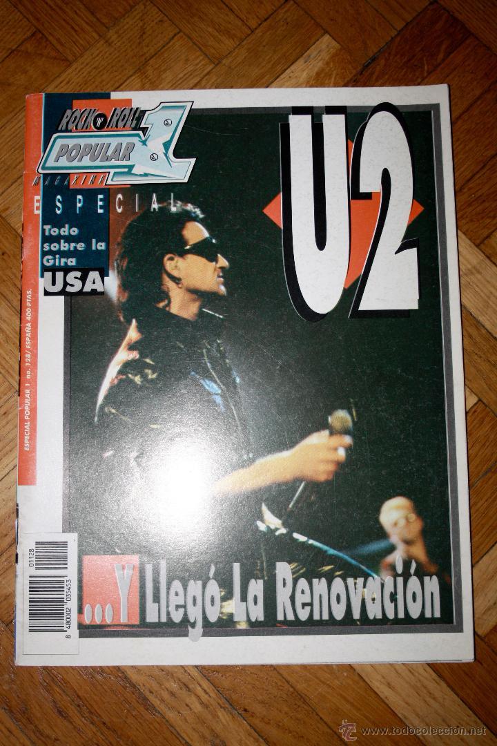 REVISTA ROCK N ROLL POPULAR 1 U2 ESPECIAL (Coleccionismo - Revistas y Periódicos Modernos (a partir de 1.940) - Otros)