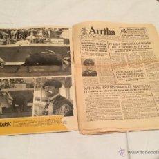 Coleccionismo de Revistas y Periódicos: PERIODICO ARRIBA Y SUPLEMENTO. AÑO 1966. Lote 43106179