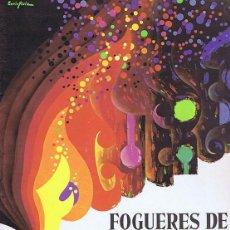 Coleccionismo de Revistas y Periódicos: PROGRAMA OFICIAL FOGUERES DE SANT JOAN. HOGUERAS DE SAN JUAN - ALICANTE DEL 21 AL 29 DE JUNIO 1986 -. Lote 44666203