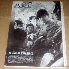 Coleccionismo de Revistas y Periódicos: DIARIO ABC DE SEVILLA. 20 DE JULIO 1986. ESPARTACO TORERO. REPORTAJE. TOROS. . Lote 43122789