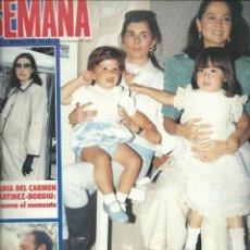 Coleccionismo de Revistas y Periódicos: SEMANA CON - LAS MARQUESAS DE GRIÑON Y CUBAS JUNTAS Nº 2359 DE 1985. Lote 43131610