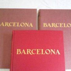 Coleccionismo de Revistas y Periódicos: L-156. REVISTA BARCELONA. 3 TOMOS ENCUADERNADOS DE LAS REVISTAS. AÑOS 1955-1956 Y 1957.. Lote 43147499