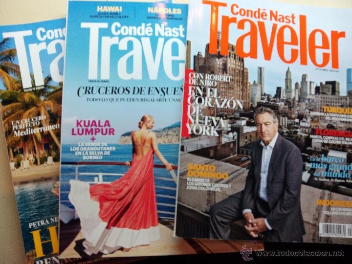 LOTE DE 3 REVISTAS TRAVELER Nº 70,71 Y 72 / FEBRERO / MARZO Y ABRIL DE 2014 (Coleccionismo - Revistas y Periódicos Modernos (a partir de 1.940) - Otros)