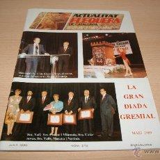Coleccionismo de Revistas y Periódicos: REVISTA ACTUALITAT FLEQUERA DE CATALUNYA - JUNIO 1989 NÚMERO 272. Lote 43238639