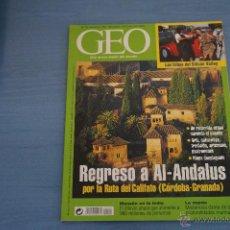 Coleccionismo de Revistas y Periódicos: REVISTA GEO:REGRESO A AL-ANDALUS,Nº154. Lote 43248525