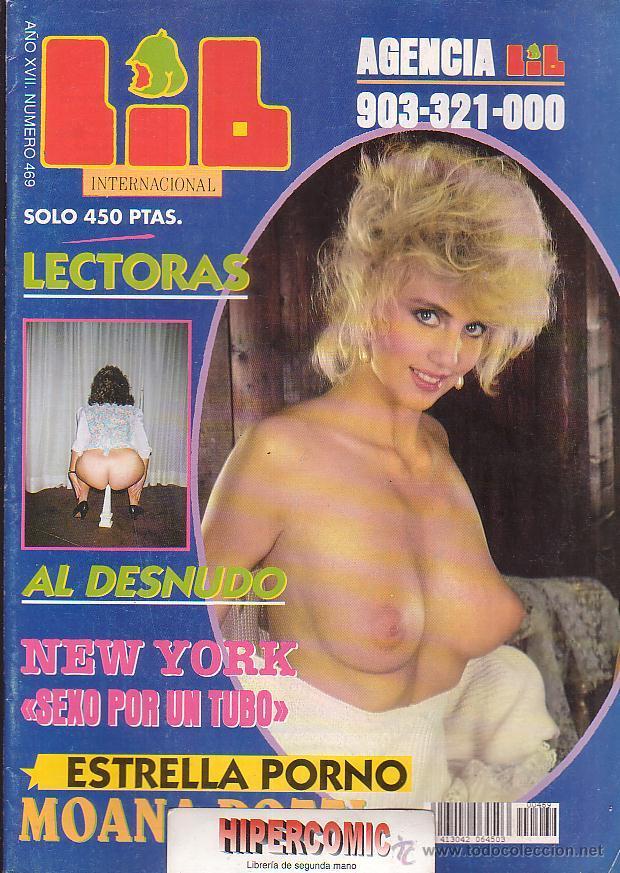 LIB INTERNACIONAL Nº 469 , MOANA POZZI, RONNA KEITT, (Coleccionismo - Revistas y Periódicos Modernos (a partir de 1.940) - Otros)