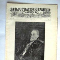Coleccionismo de Revistas y Periódicos: ILUSTRACION ESPAÑOLA Y AMERICANA. 1912. .. Lote 43257863