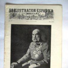 Coleccionismo de Revistas y Periódicos: ILUSTRACION ESPAÑOLA Y AMERICANA. 1912. .. Lote 43257941
