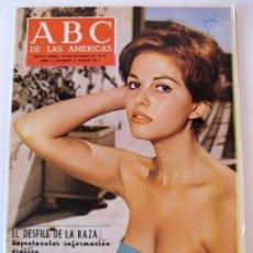 Coleccionismo de Revistas y Periódicos: ABC DE LAS AMÉRICAS - UN Nº 0 Y Nº 2 DE UN PROYECTO PERIODÍSTICO DE CORTO RECORRIDO - AÑOS 1971-72. Lote 25352070