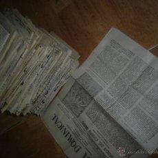 Coleccionismo de Revistas y Periódicos: REVISTA RELIGIOSA ANTIGUA MADRID HOJA DOMINICAL 1958 LOTE 50 NUMEROS. Lote 43335769
