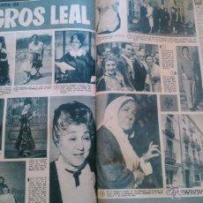 Coleccionismo de Revistas y Periódicos: RECORTES MILAGROS LEAL. Lote 43338125