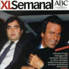 Coleccionismo de Revistas y Periódicos: REVISTA XL SEMANAL. JULIO IGLESIAS, ALFREDO FRAILE, CARDENAL AMIGO. 2014. Lote 43374810