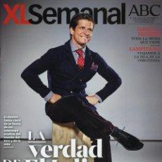 Coleccionismo de Revistas y Periódicos: REVISTA XL SEMANAL. LA VERDAD DE EL JULI, TORERO. 2013. Lote 43375356
