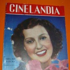 Coleccionismo de Revistas y Periódicos: REVISTA CINELANDIA ENERO 1940. Lote 43387703