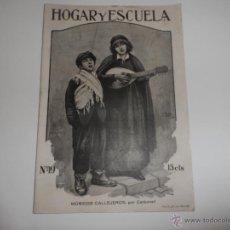 Coleccionismo de Revistas y Periódicos: ANTIGUA REVISTA HOGAR Y ESCUELA BARCELONA OCTUBRE 1914. Lote 43408072