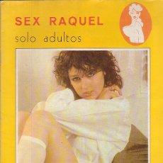 Coleccionismo de Revistas y Periódicos: SEX RAQUEL ( REVISTA EROTICA DE LOS 70 ). Lote 43413035