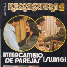 Coleccionismo de Revistas y Periódicos: KAMASUTRA Nº 2 , REVISTA EROTICA AÑOS 70. Lote 43414029