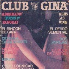 Coleccionismo de Revistas y Periódicos: CLUB GINA, AÑO 1978 - EDWIGE FENECH - SILVIA KRISTEL. Lote 43414636