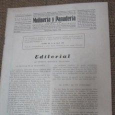 Coleccionismo de Revistas y Periódicos: REVISTA MOLINERIA Y PANADERIA -Nº 376 - VALLADOLID ENERO 1934- 60PP 30CM FOTOS PUBLICIDAD. Lote 43443377